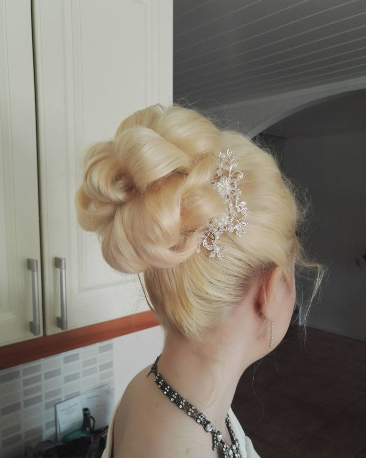 Twist Wedding Hairstyle