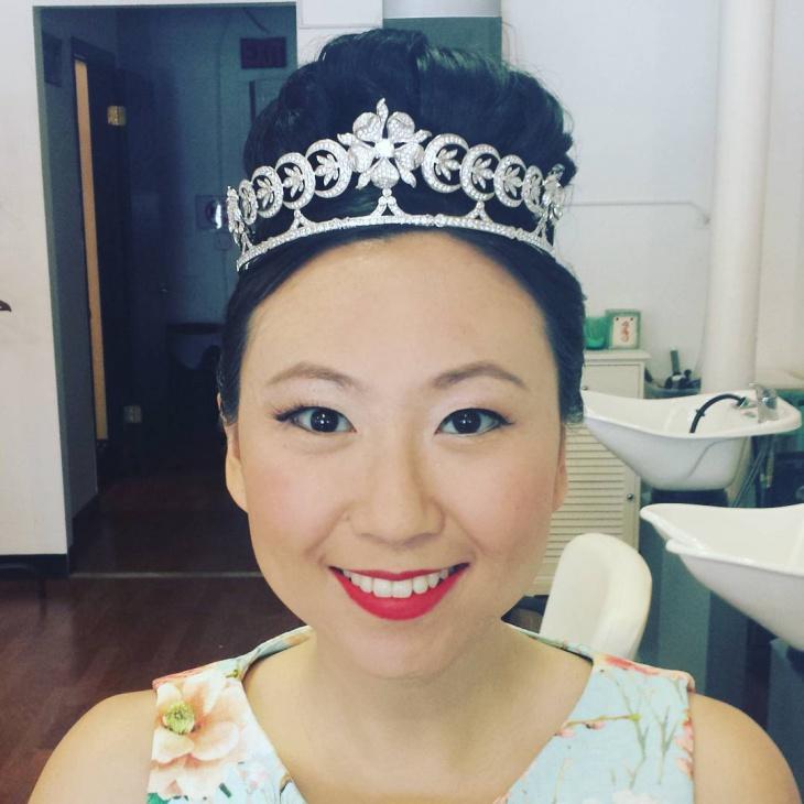 wedding princess hairstyle