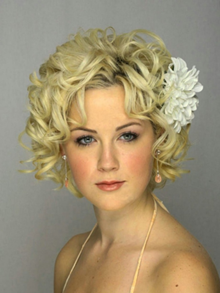 Vintage Princess Short Hairstyle