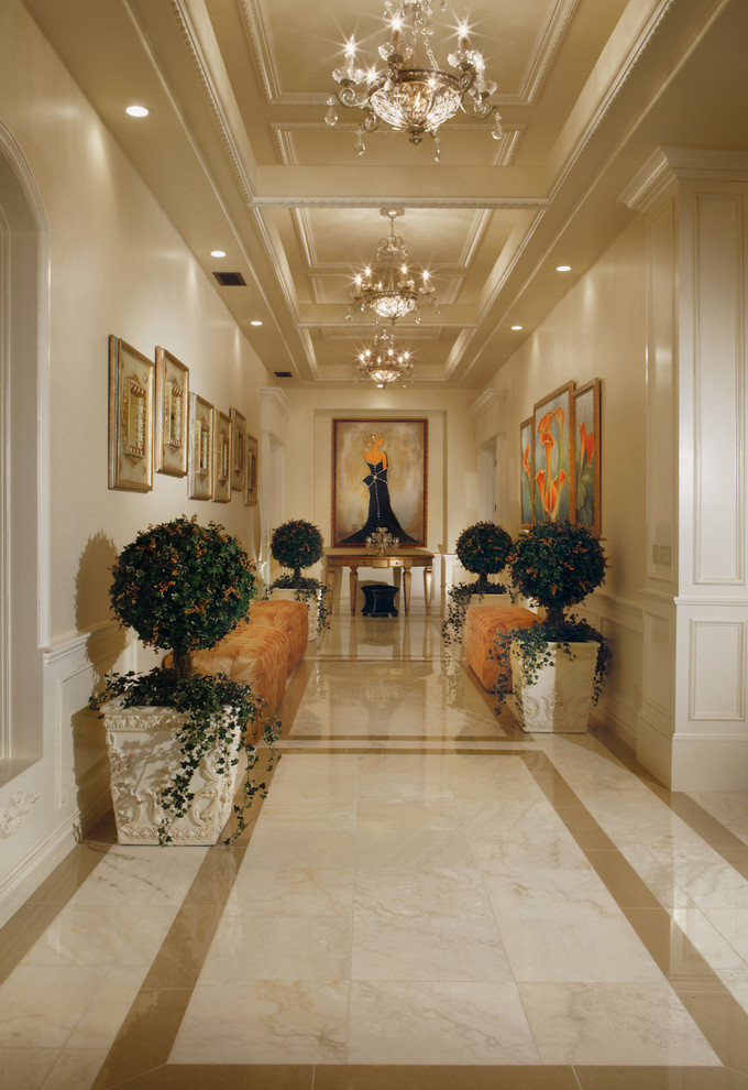 garden magic traditional hallway designs