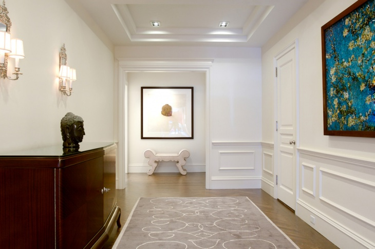 Transitional Hall Way Designs