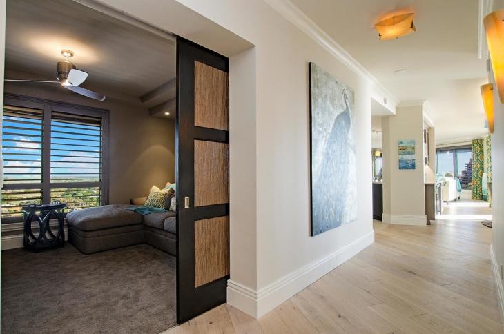 Vibrant Entry Remodel Hallway Designs