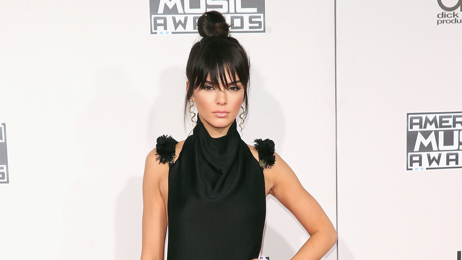 kendall jenner top knot