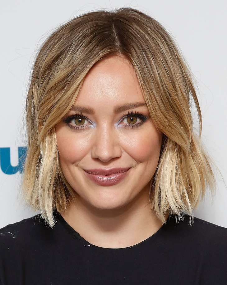 hilary duff short spring hairstyle