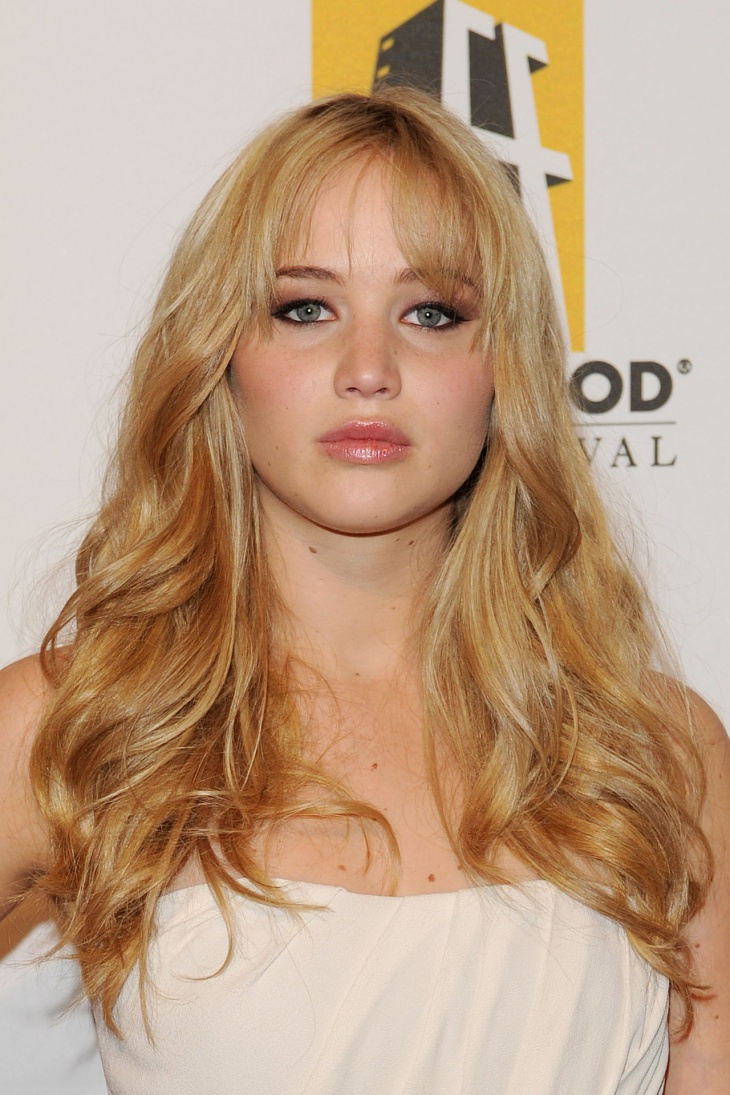jennifer lawrence spring hairstyle