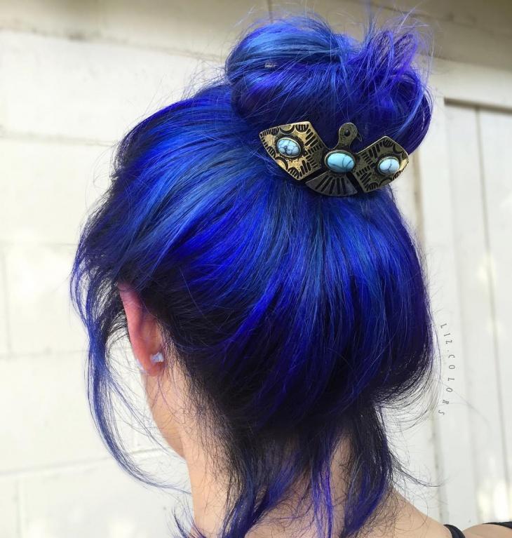 top knot accessories idea