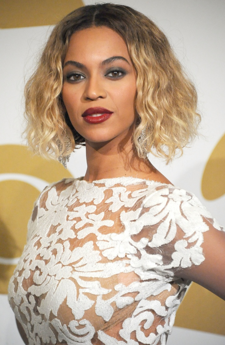 beyonce short wave hair