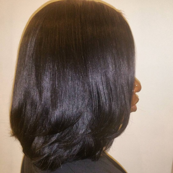 weave bob for black women