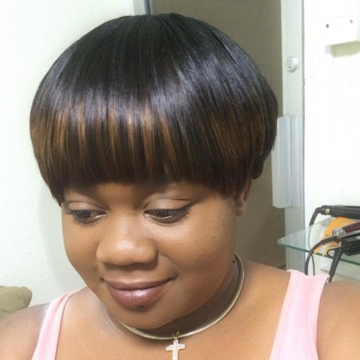 Bowl Bob Weave Wig Idea