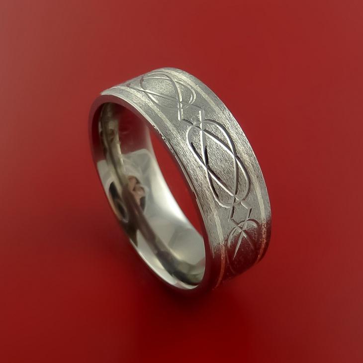 titanium camo ring
