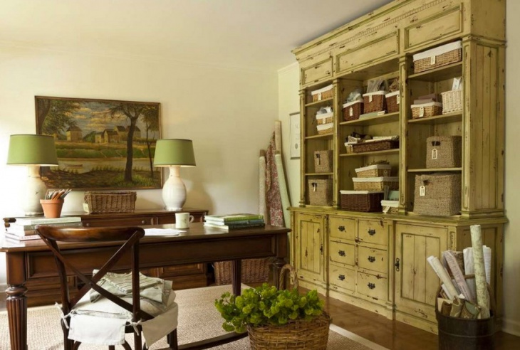 Green Furniture Idea For Home Office