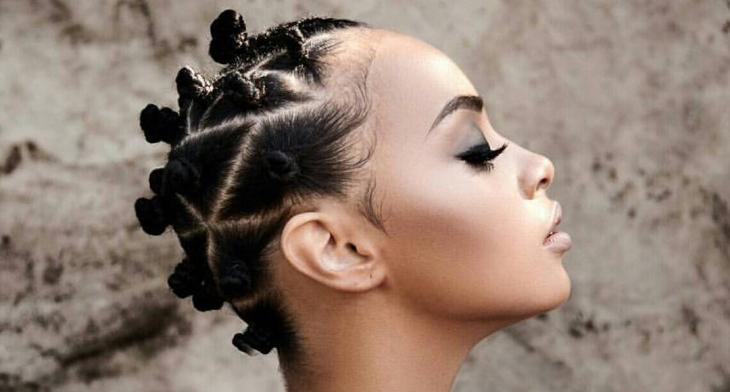20 Bantu Knots Haircut Ideas Designs Hairstyles Design Trends Premium Psd Vector Downloads