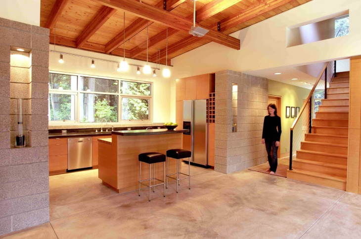 Residence Orange Kitchen Idea