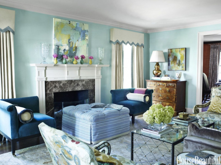 living room color idea for small spaces