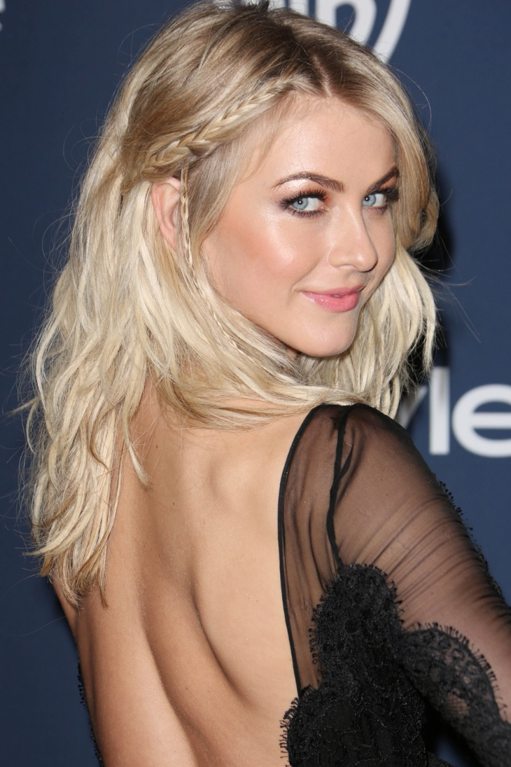 julianne hough cornrow hair