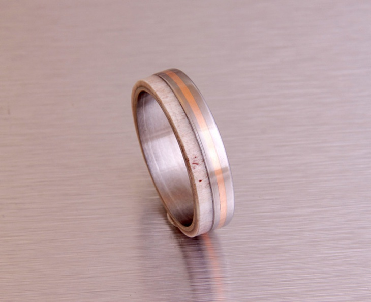 Antler Titanium Ring Design