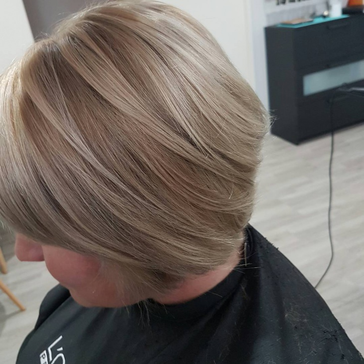 Blonde Bob for Thick Hair
