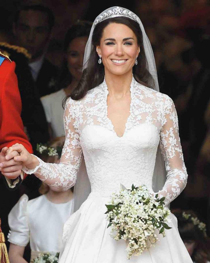 catherine middleton Vinatge Wedding Outfit