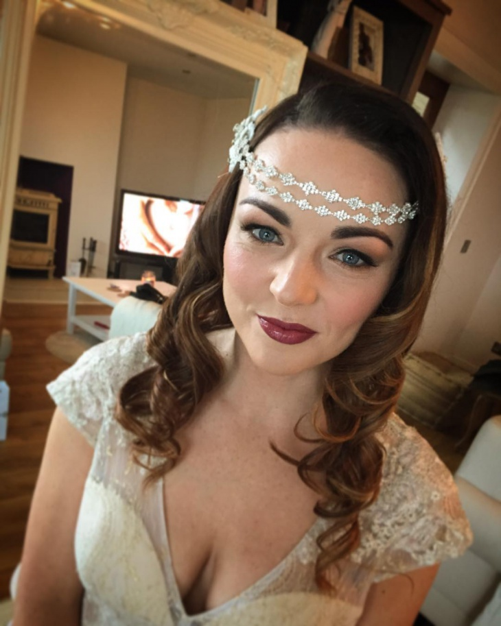 1920s bridal makeup
