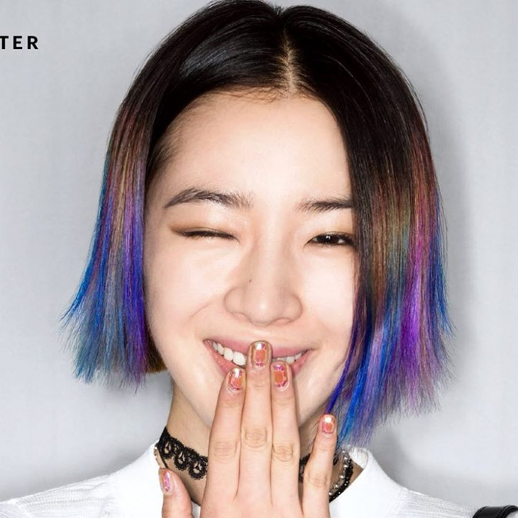 Beautiful Chopped Hairstyle