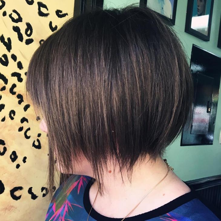 Choppy Haircut for Short Hair