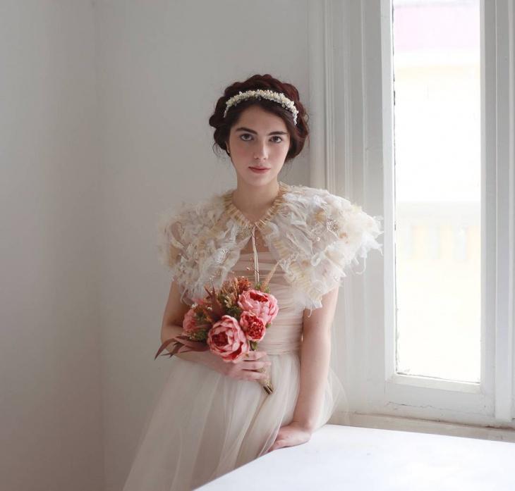 60s wedding dress style
