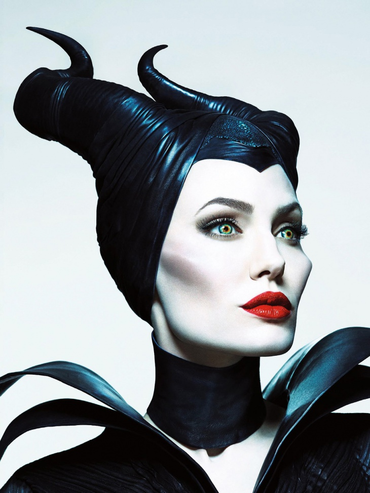 angelina jolie evil fairy makeup
