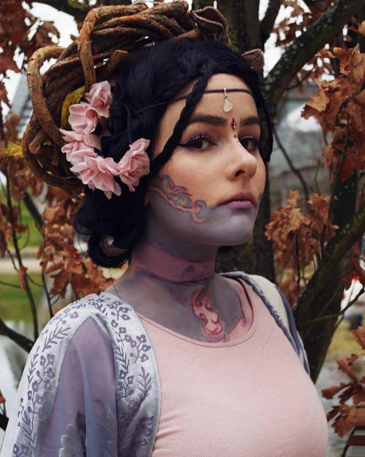Fantasy Deer Makeup