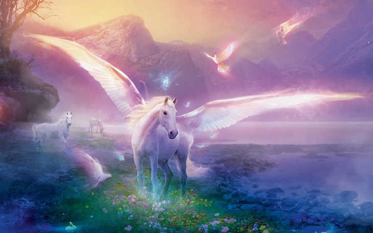 Fantasy Horse Desktop Wallpapers