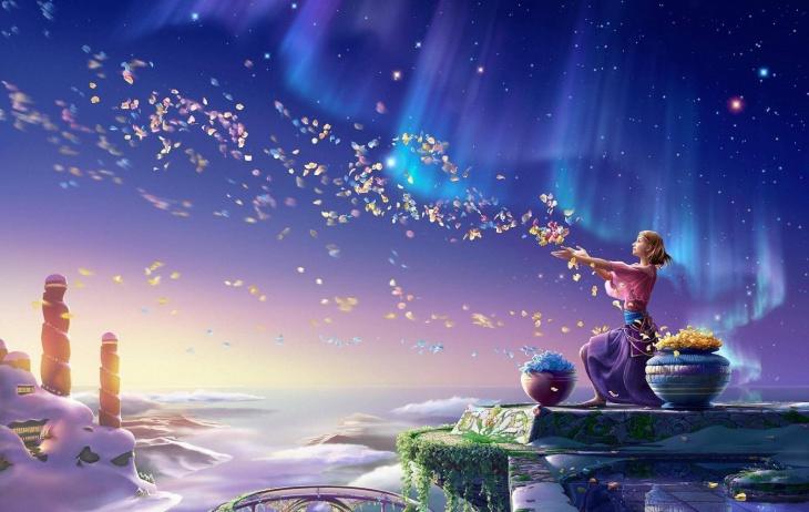 Drifting Spirit Fantasy HD Wallpaper