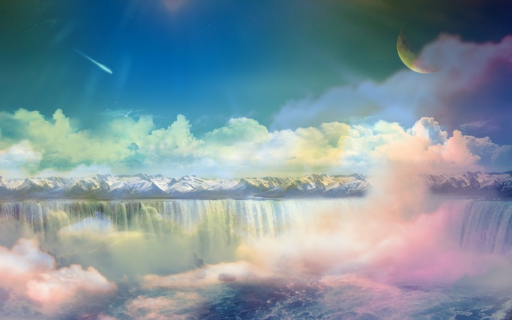 Dreamy World Wallpaper Background