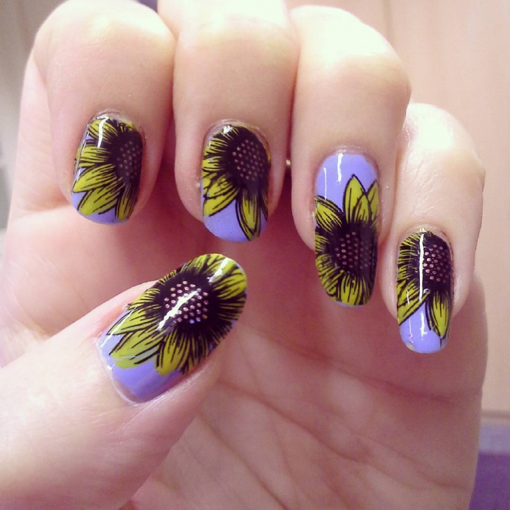 Beautiful Nail Art Idea