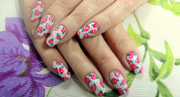 img. Want super cool nail art? - 21+ Vintage Nail Art Designs, Ideas Design Trends - Premium PSD