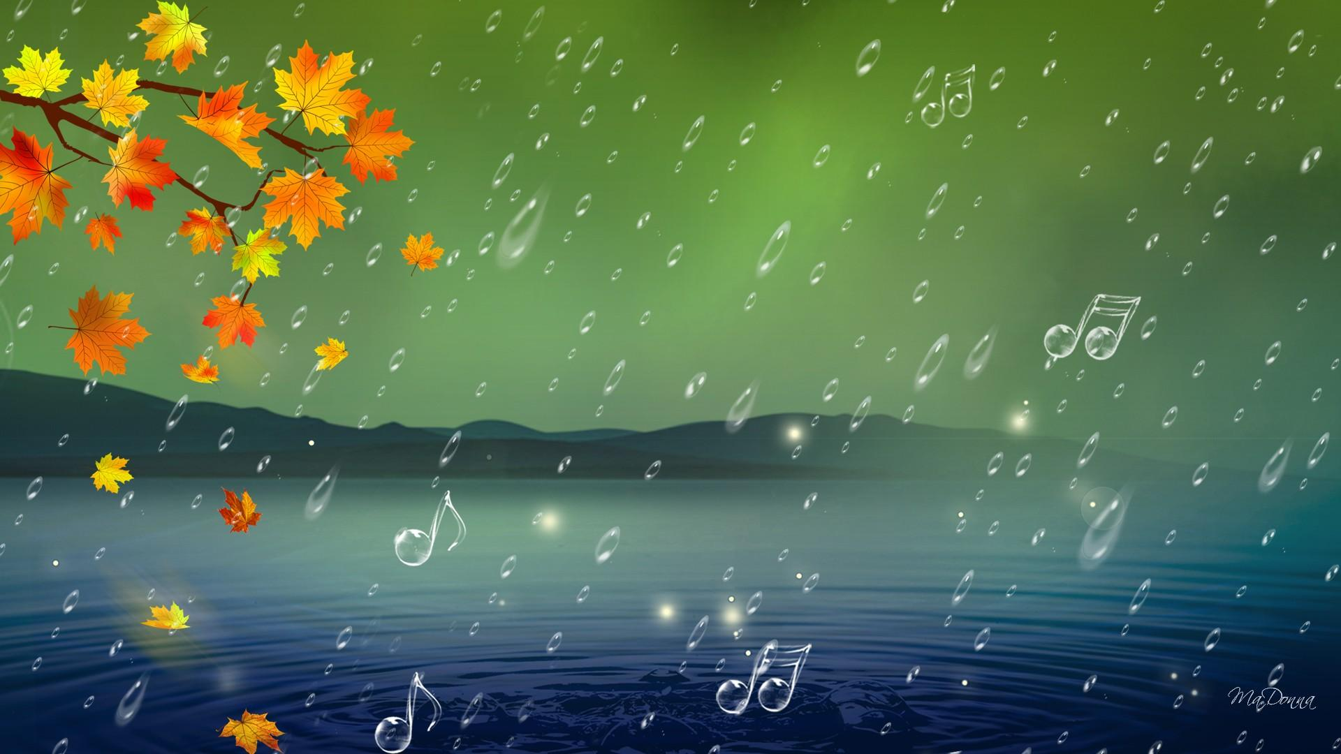 beautiful music notes wallpaper
