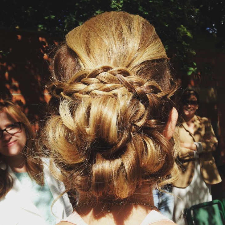 Braidal Updo Hairstyle Idea