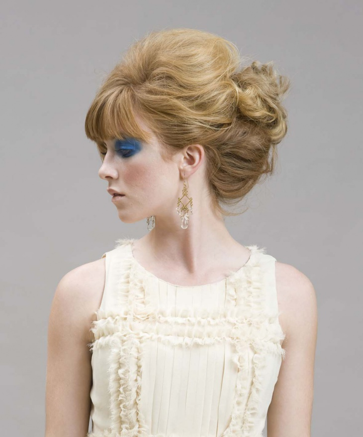 Prom Makeup and Hairstyle