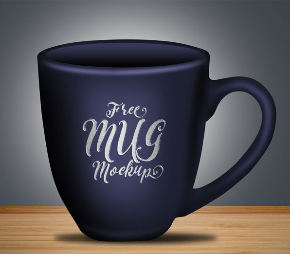 Editable Layers Free Coffee Mug Mock-up PSD