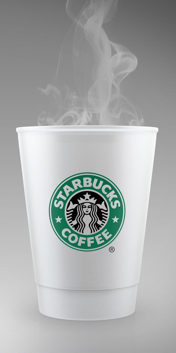 STARBUCKS Style Coffee Mockup
