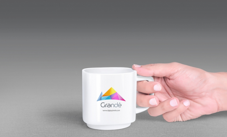 Photorealistic Coffee Mug Mockup with 7 Unique Holding Positions
