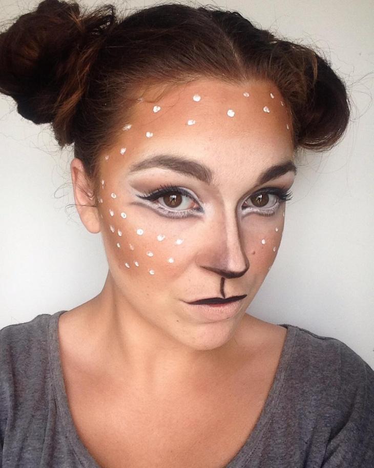 deer halloween makeup - photo #6