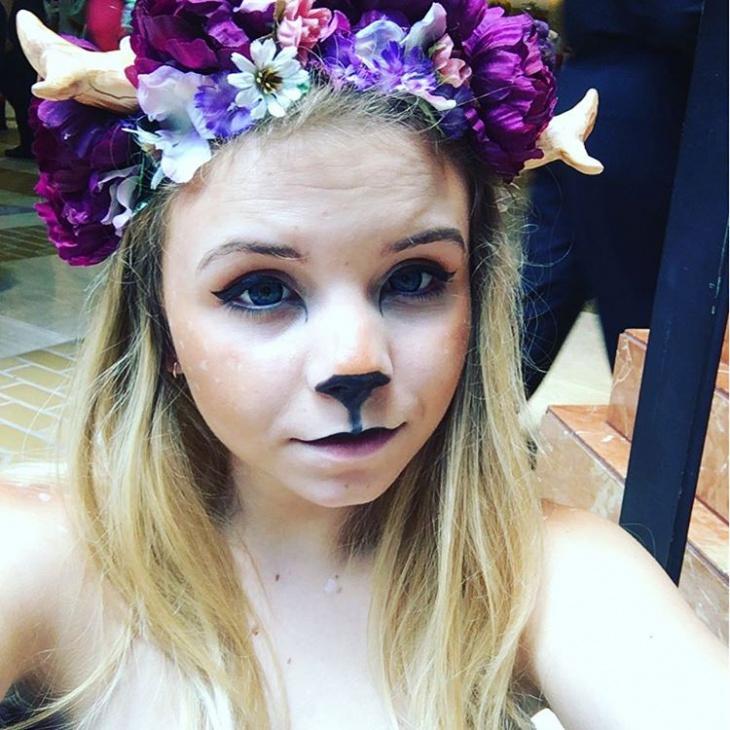 doe deer makeup
