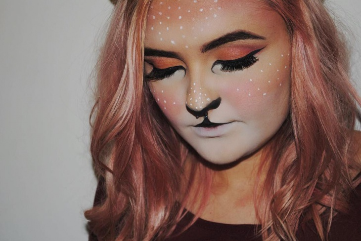 20 Deer Makeup Designs Trends Ideas Design Trends