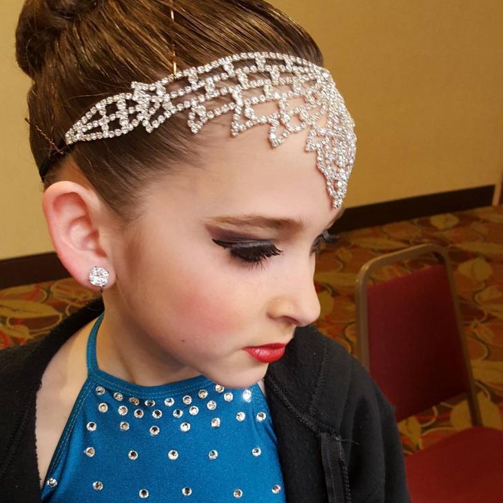 Dance Makeup for Little Girl