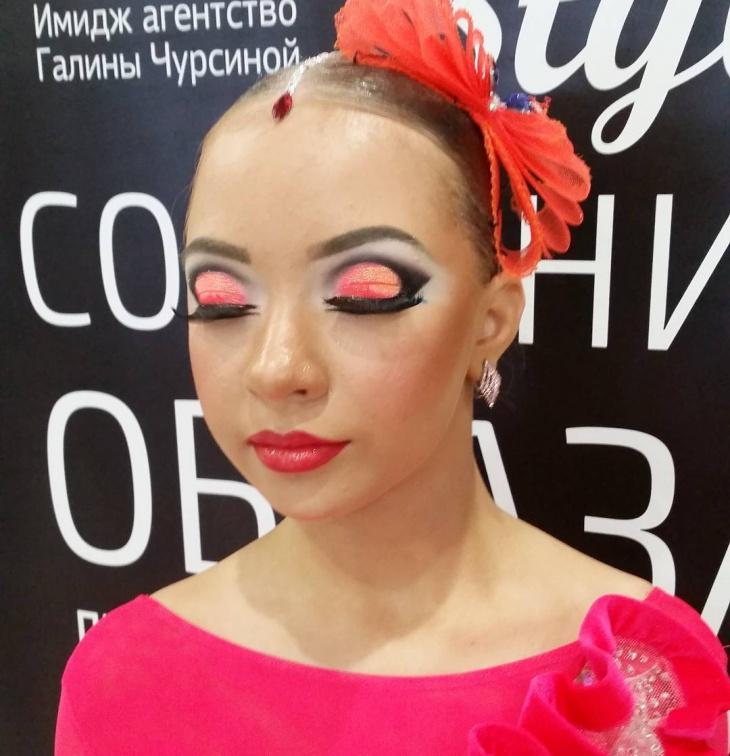 Dance Makeup for Girls