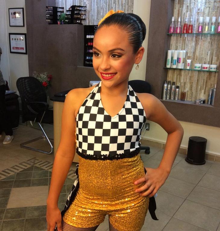 Dance Makeup for Cute Girl