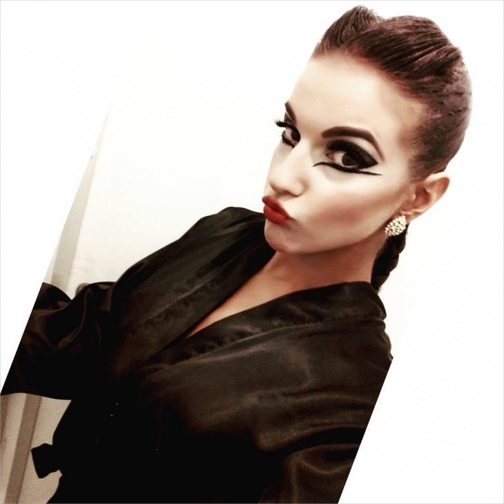 Stylized Dance Makeup