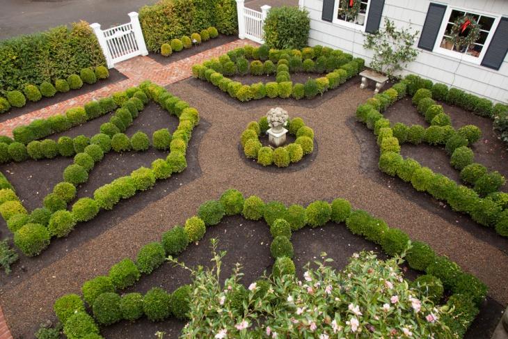 Formal Scandinavian Garden Ideas