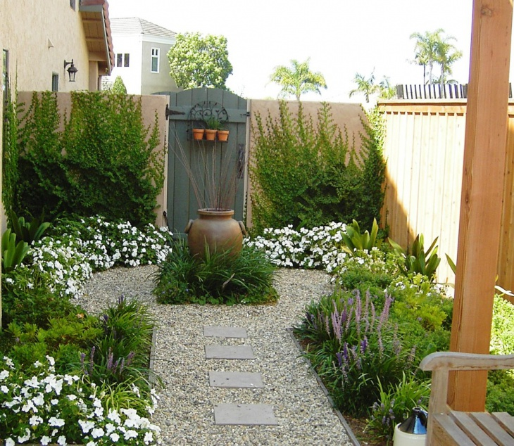 cool backyard garden design