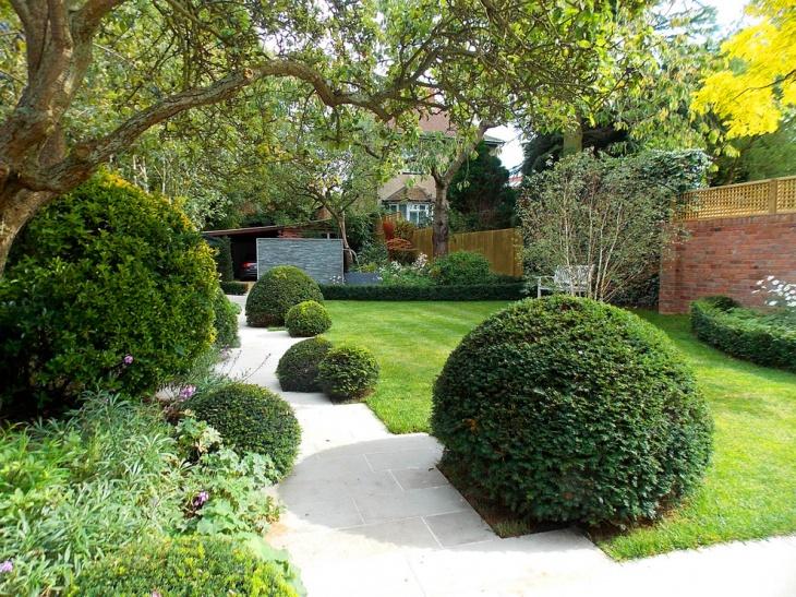 External Garden with Pathway