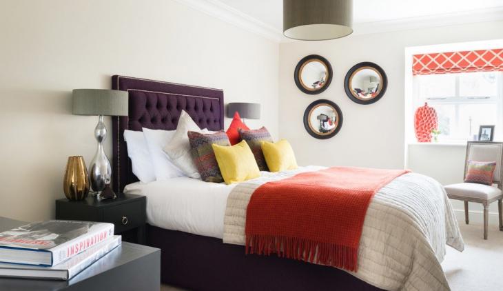 unique bedroom decorating idea